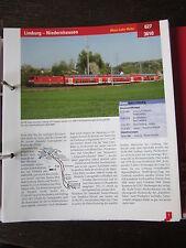 Das große Archiv Eisenbahnstrecken: 627 Limburg Niedernhausen MAria Lahn Bahn