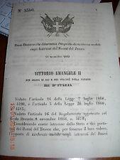 REGIO DECRETO 1869 DETERMIN IMPOSTA RICCHEZZA MOBILE INTERESSI BUONI DEL TESORO