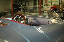 Porsche 550 Spyder, 356 Speedster racing windshield for Original or  Replicas.