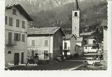 BELLA CARTOLINA DI MESE PIAZZA CENTRALE IN PROVINCIA DI SONDRIO VALTELLINA