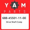688-45501-11-00 Yamaha Drive shaft comp 688455011100, New Genuine OEM Part