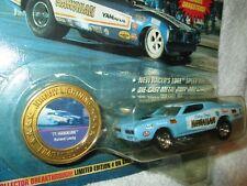 HAWAIIAN dodge charger Funny car lt Blue JOHNNY LIGHTNING dragsters 1/64 ltd ed