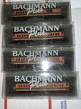 Lot Of 4 Great Northern PASSENGER COACHES by Bachmann Plus Set Of (4)