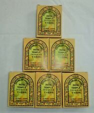 Song of India Incense Cone: Bulk 150 Cones Lot (6 x 25 Boxes) India Temple
