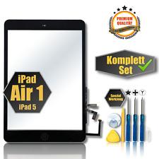 """✅Apple iPad Air 1 iPad 5 Touchscreen Digitizer Glas Display Scheibe schwarz 9,7"""""""