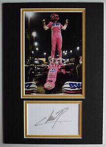 Sergio Perez Signed Autograph A4 photo display Formula 1 F1 AFTAL COA
