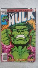 marvel comic, incredible hulk, issue#225, looking for good home