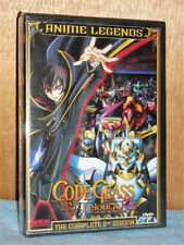 Code Geass: Lelouch of the Rebellion R2 Season Two (DVD, 2016, 4-Disc) NEW anime