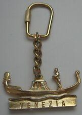 Vintage Venice Italy Gondola Keychain Venezia Key Ring