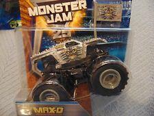 2017  Hot Wheels Monster Jam Truck GRAY MAX-D with Team Flag