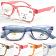 1895 Stylish Jelly Colorful Reading Glasses/Matte Design/Lightweight Thin Frame^