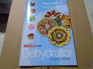 Nesco Food Dehydrator & Jerky Maker Model FD-28JX - NEW.