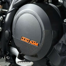 NEW KTM CARBON CLUTCH COVER PROTECTOR 2008-10 LC4 690 SM SMC DUKE 7503002605049