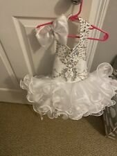 White baby pageant dress