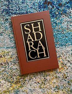 "Shadrach William Styron Signed Lettered Fine Press Book Sylvester & Orphanos ""N"""