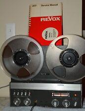 Revox A77 Mark IV - 2 Track - Excellent Condition!