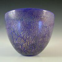 Isle of Wight Studio / Harris 'Azurene Blue' Glass Bowl