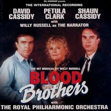 BLOOD BROTHERS MUSICAL SEALED CD DAVID+SHAUN CASSIDY PETULA CLARK WILLY RUSSELL