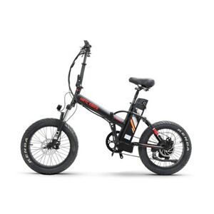 High Speed 20 inch 500W Electric Bicycle With Removable Battery Folding Ebike