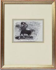 Zeichnung Maurizio Tindiani Kentaur Zentaur 1996 Sammlung Karl Schott 41 x 33 cm