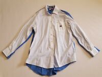 Tommy Hilfiger Color Block Long Sleeve Shirt Size 10