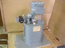 CircuitPak Hydraulic Power Unit T3V-15-M-P1-FTT-G15-A1 With Black Valve