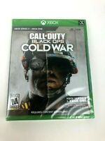 Brand New & Sealed Call of Duty: Black Ops Cold War for Xbox One and Series X