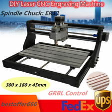 Cnc 3018 Router Kit 3 Axis Engraving Milling Machine Laser Grbl Control Pcb Wood