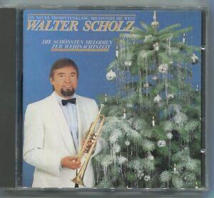 CD Walter Scholz: Die schönsten Melodien zur Weihnachtszeit (Intercord) 1986