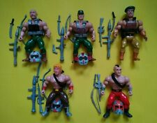 The Last Worriors Warriors MOTU KO Bootleg action figure lot Talos Skarvski