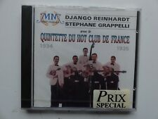 CD Album django reinhadt Stephane Grappelli Quintette du Hot club de France