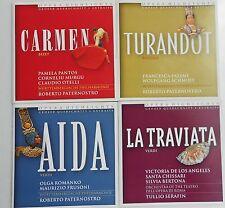 4 CD: Carmen,La Traviata, Turandot, Aida Opera Highlights EMI