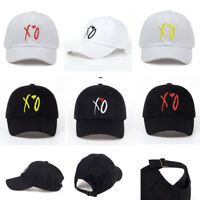 Newest Design X.O Embroidery Dad Hat  XO Baseball Cap Adjustable Quality Hats