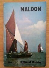 Maldon Official Guide Maldon District Council (Essex/UK) Mid 1970's?