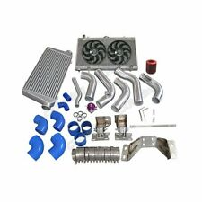 Intercooler Piping Engine Transmission Mount Rad Fan Kit For 240SX S13 S14 2J...