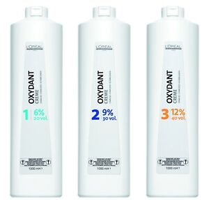 L'Oreal Professional Oxydant Cream Proxide Developer 1000ml- Fast Delivery