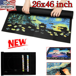 Puzzle Jigsaw Storage Mat Play mat Blanket For Up to 1500 Pcs Casual Game Gift