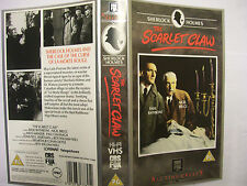 THE SCARLET CLAW [Sherlock Holmes] [1944] VHS *SLEEVE ONLY* – Basil Rathbone