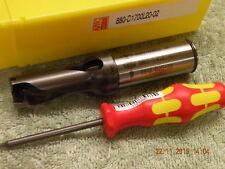 Sandvik 17mm U Drill 880-D1700L20-02 2xD through coolant new