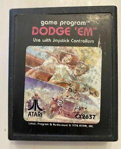 DODGE 'EM (ATARI, 1981) GAME CARTRIDGE ONLY ~TESTED~