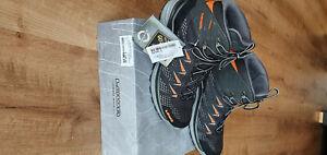 lowa Innox Pro GTX Mid schwarz orange 43 1/2 Uk 9 neu