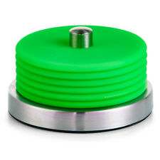 Zeller Glasuntersetzer Set 7-tlg Grün Edelstahl / Silikon Glas Tisch Untersetzer