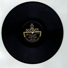 78T Louis FERRARI Orchestre Musette Disque Phono LA BELLE DE TOLEDE ODEON 281816