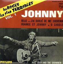"""CD """" Johnny Hallyday Les Rocks Les Plus Terribles VOL.1 """""""