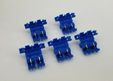 5 3M 972 Blue 14-18 AWG Quick Tap ATC Blade Fuse Holder - Max 20 Amps
