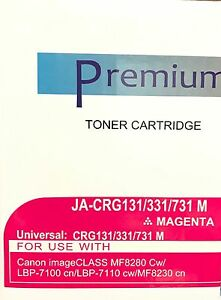 4 PK CRG-131 131 BYCM Set Laser Toner Cartridge HY For Canon ImageCLASS MF8280Cw