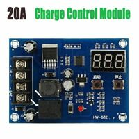 20A Charge Control Module 12-24V Storage Battery Protection Board 10-30V DC Inp
