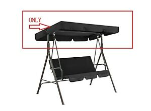 Replacement Canopy for Swing Seat 3Seater Sizes Hammock Cover Top Garden Outdoor