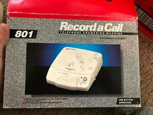 Retro Vintage Dick Smith Record a Call 801 cassette tape answering machine