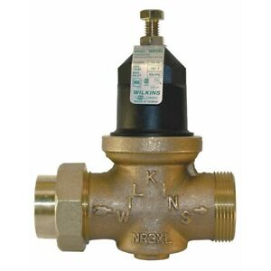 Zurn-Wilkins 3/4 in. Brass FPT Water Pressure Reducing Valve